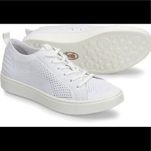 Sofft Somers Knit White Breathable Sneaker